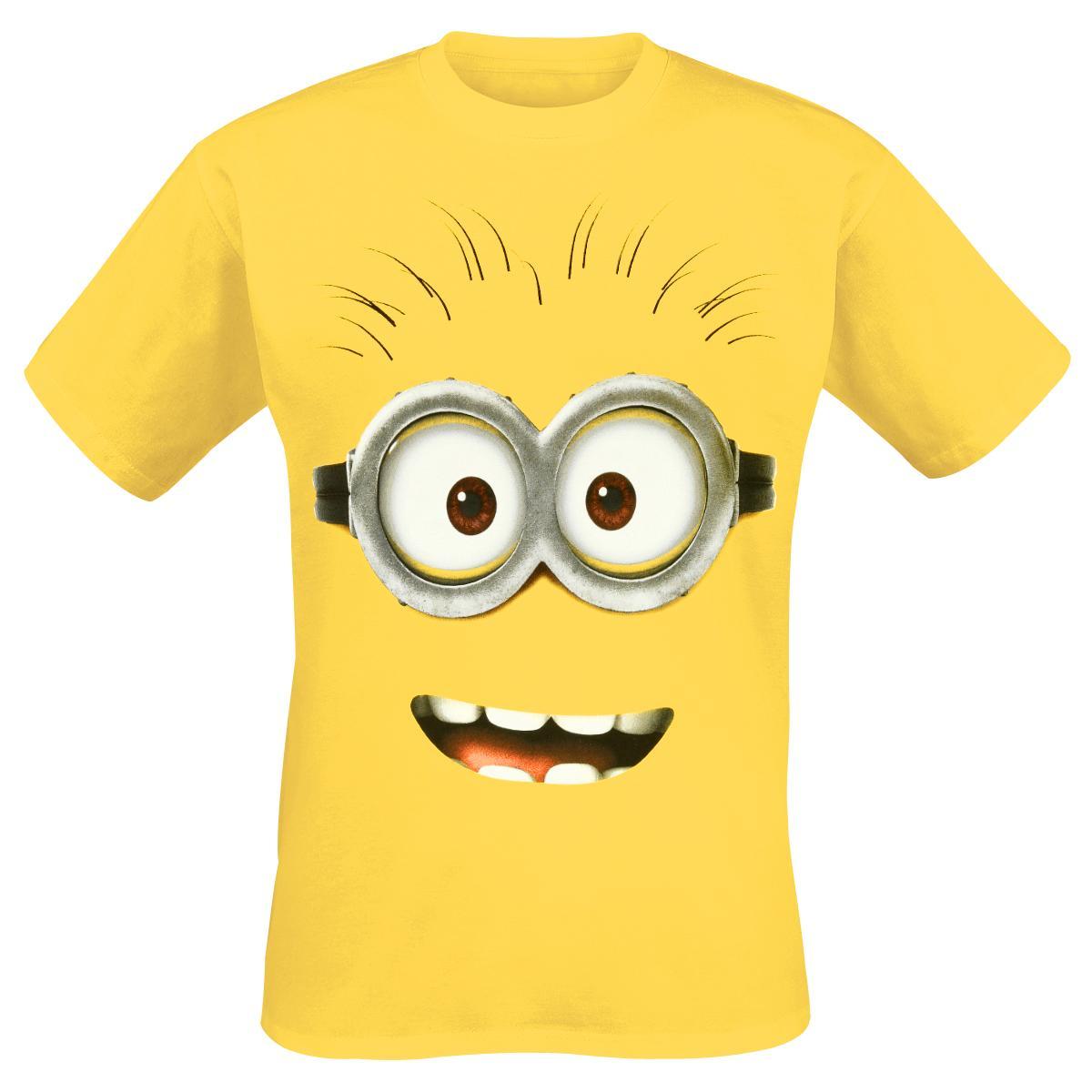 Goggle Face T-shirt Design tee