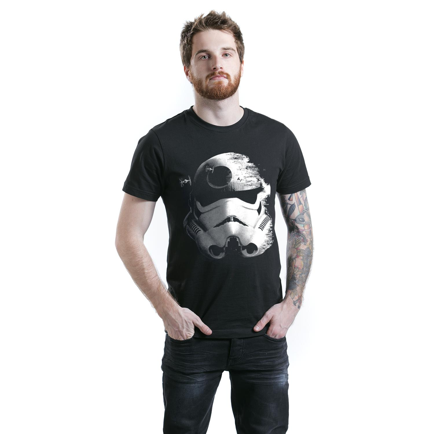 Stormtrooper - Deathstar T-shirt Design man