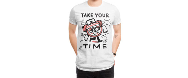 TAKE YOUR TIME Design by Ewan Brock main