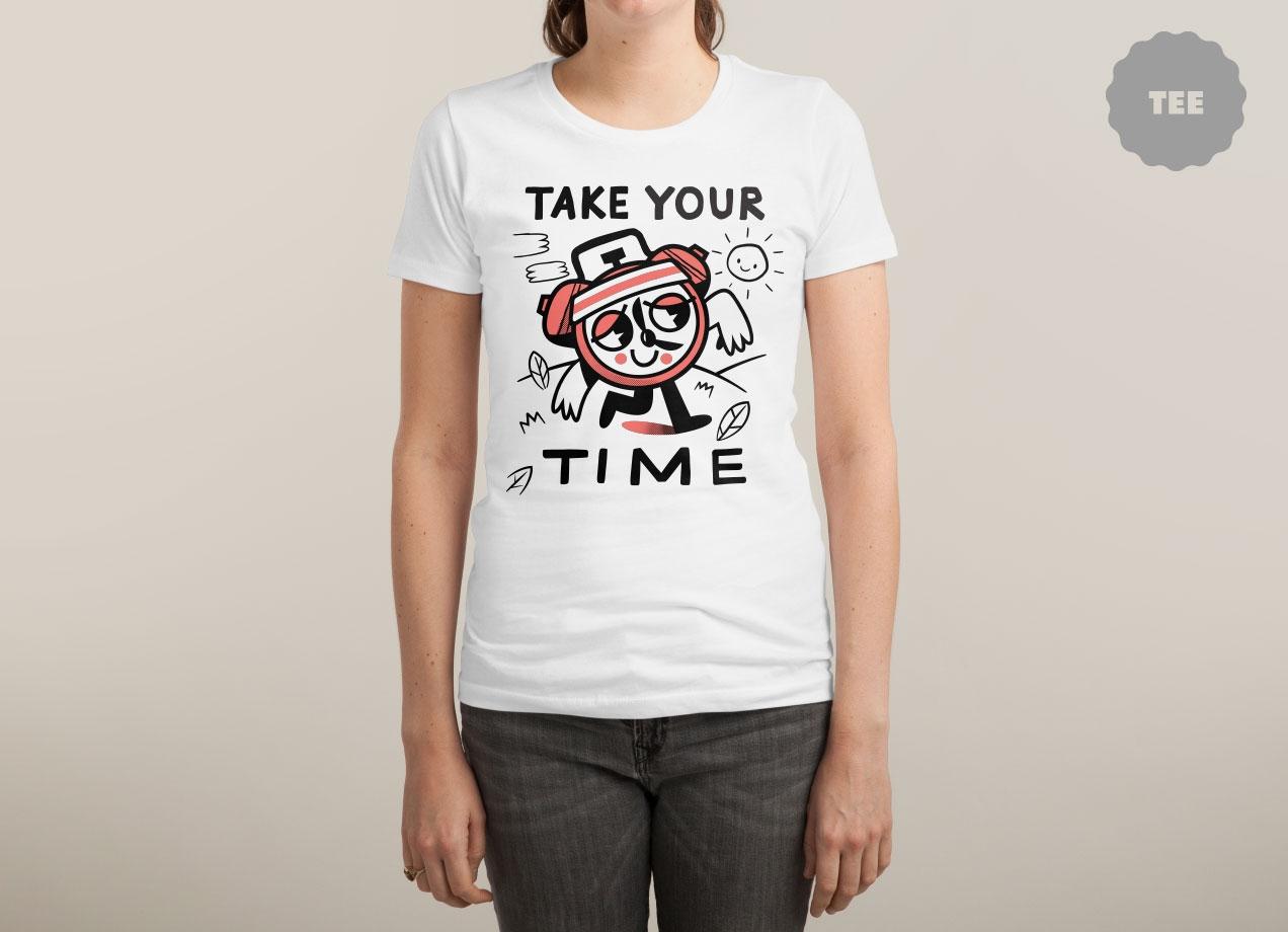 TAKE YOUR TIME Design by Ewan Brock woman