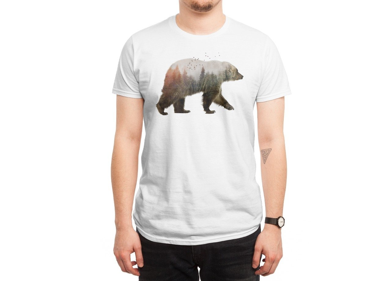 Bear t shirt design by sokol fancy Design t shirt online