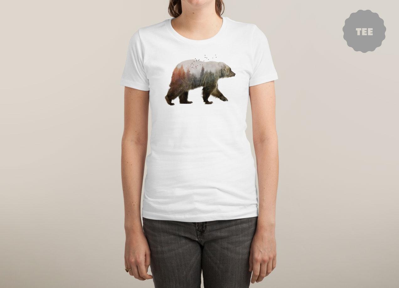 BEAR T-shirt Design by Sokol woman