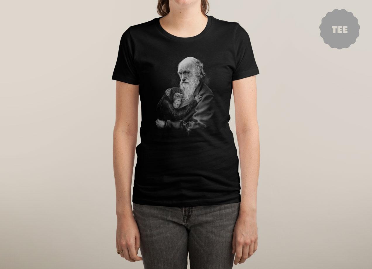 COMMON DESCENT T-shirt Design by Michael Bancroft woman