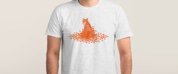 FALLEN LEAVES T-shirt Design main image