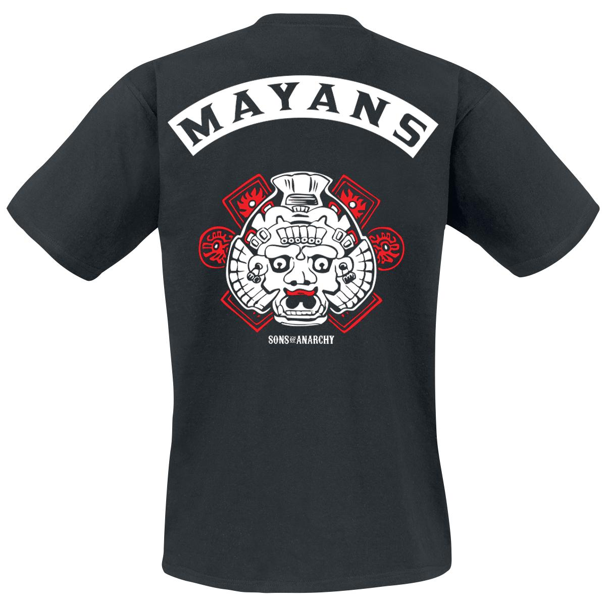 Los Mayans T-shirt Design back