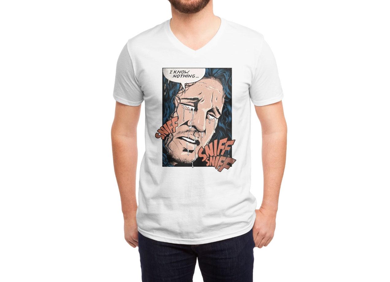 POOR JON! T-shirt Design man