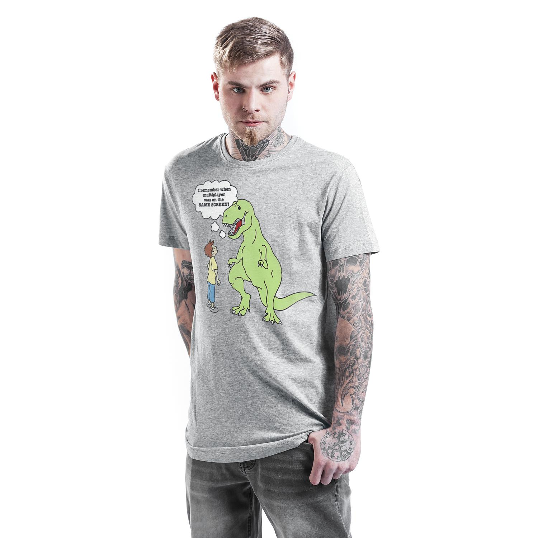 T-Rex T-shirt Design man