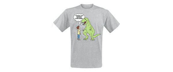 T-Rex T-shirt Design tee main