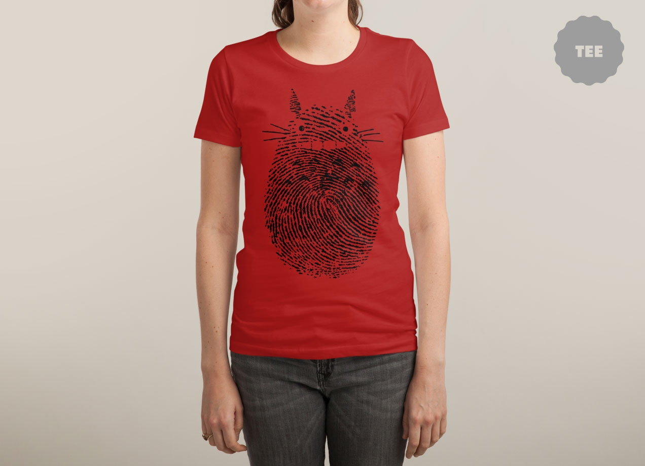 UNUSUAL FINGERPRINT T-shirt Design by M SAFII MAINIAL design woman