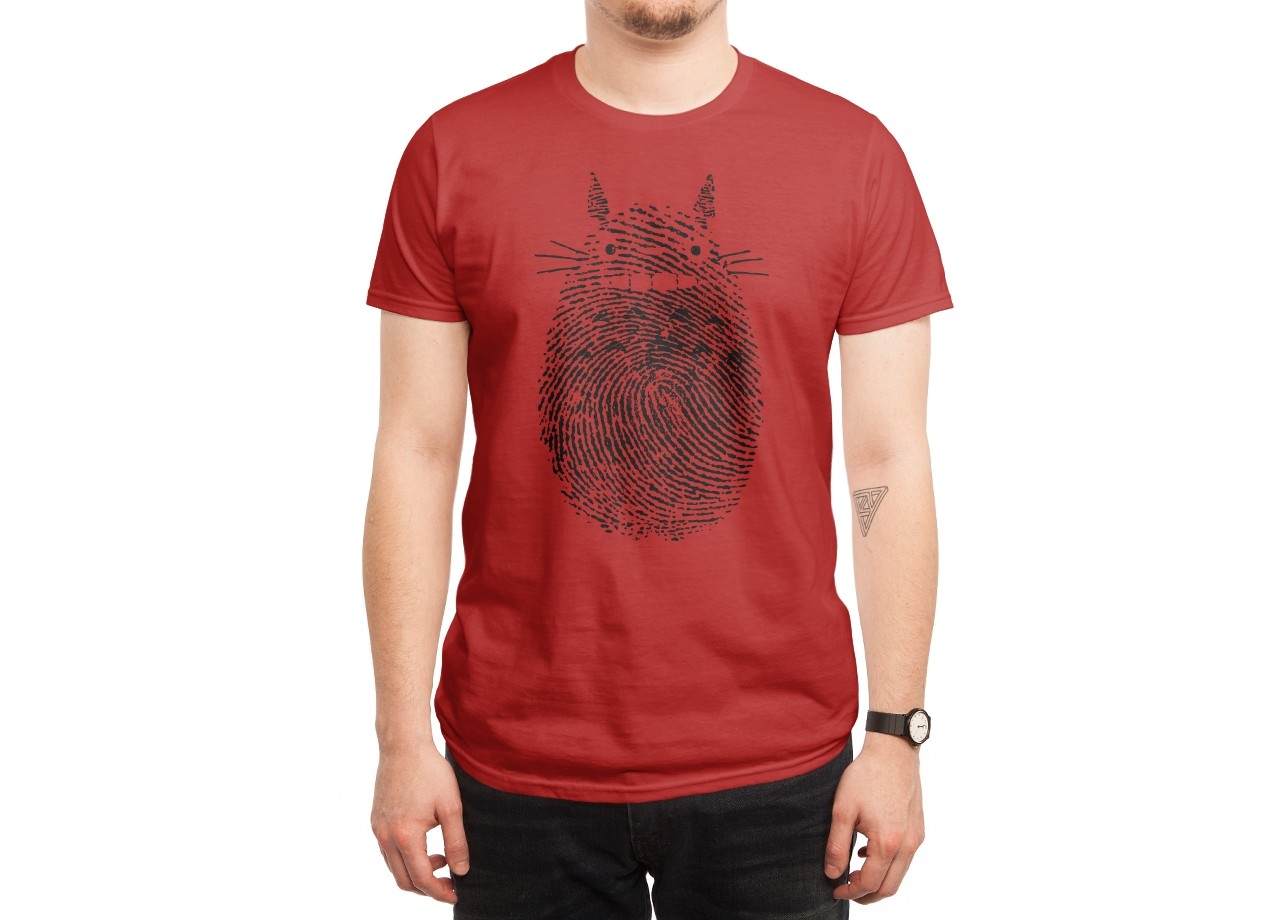 UNUSUAL FINGERPRINT T-shirt Design by M SAFII MAINIAL man tee