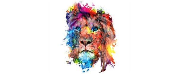 Lion T-shirt Design main image
