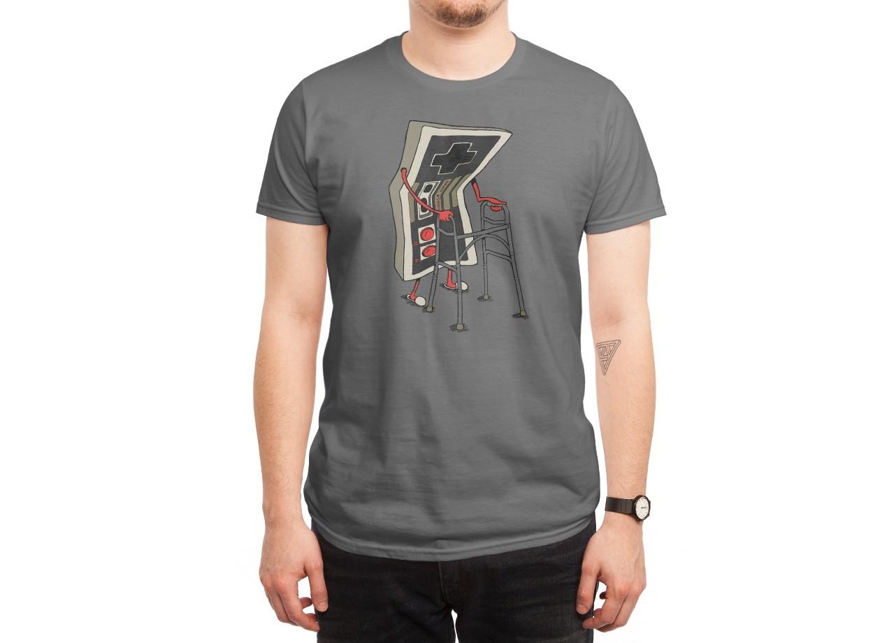 OLD GAMER T-shirt Design man