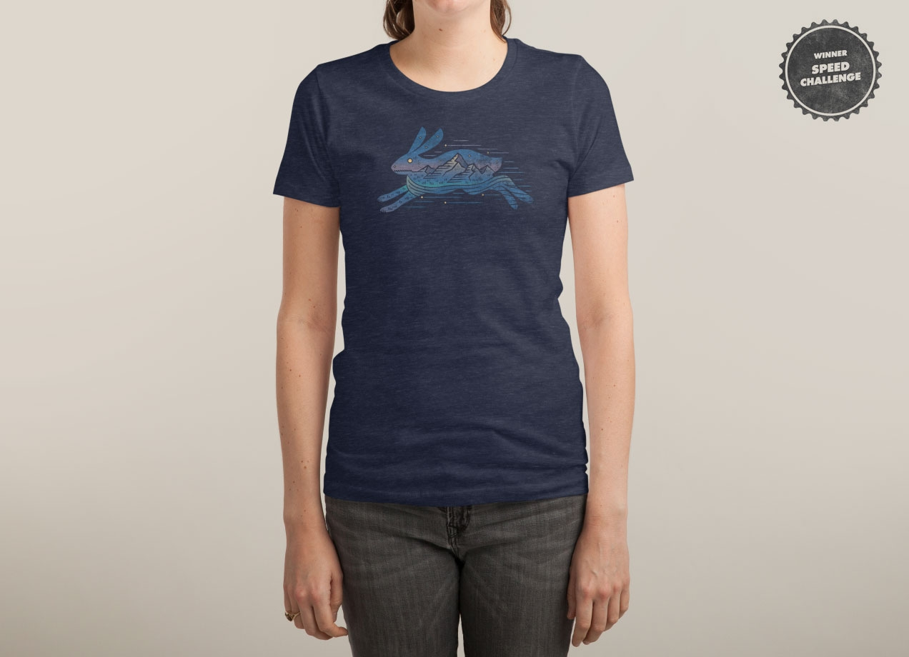 RUNNING WILD T-shirt Design woman