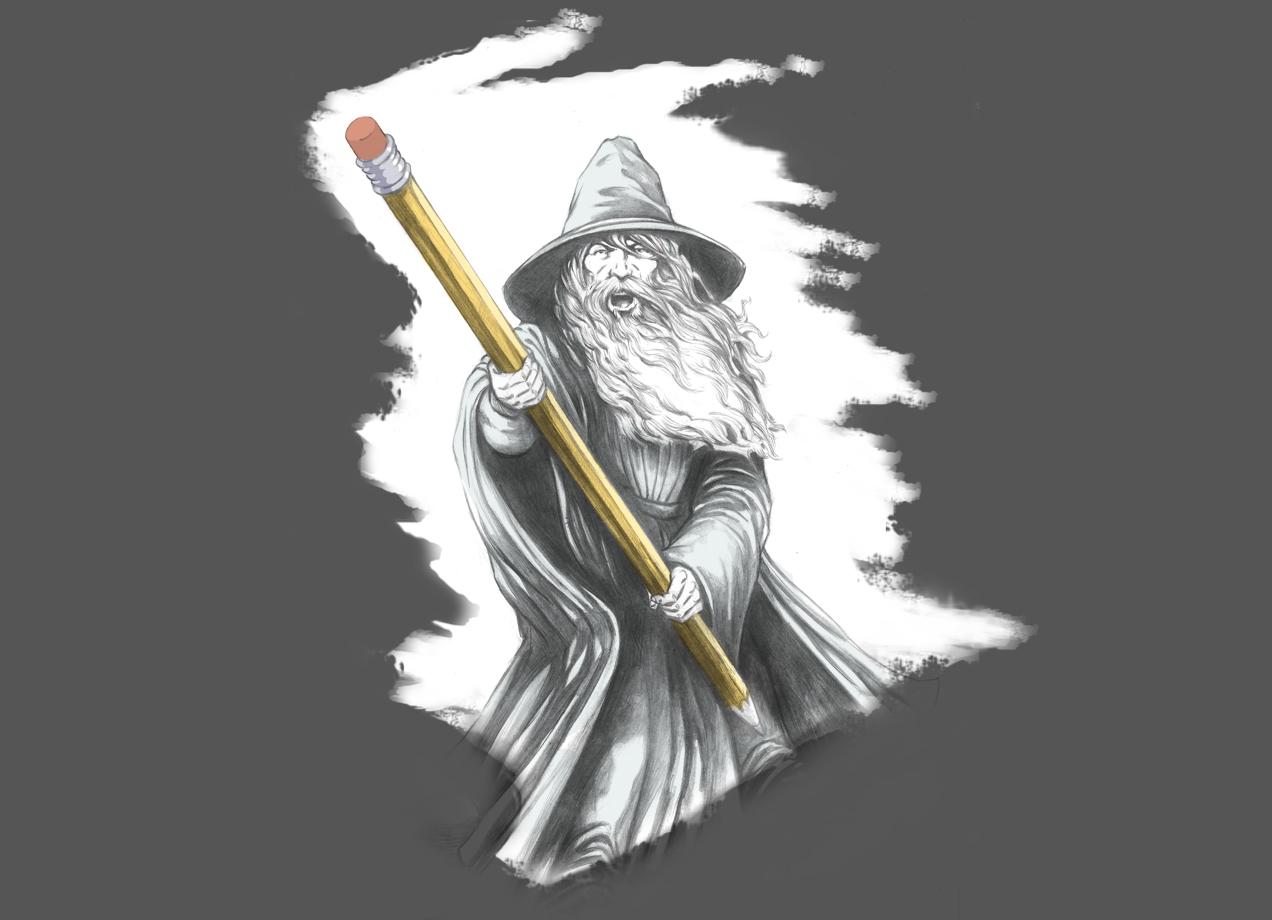THE MAGIC ERASER T-shirt Design main