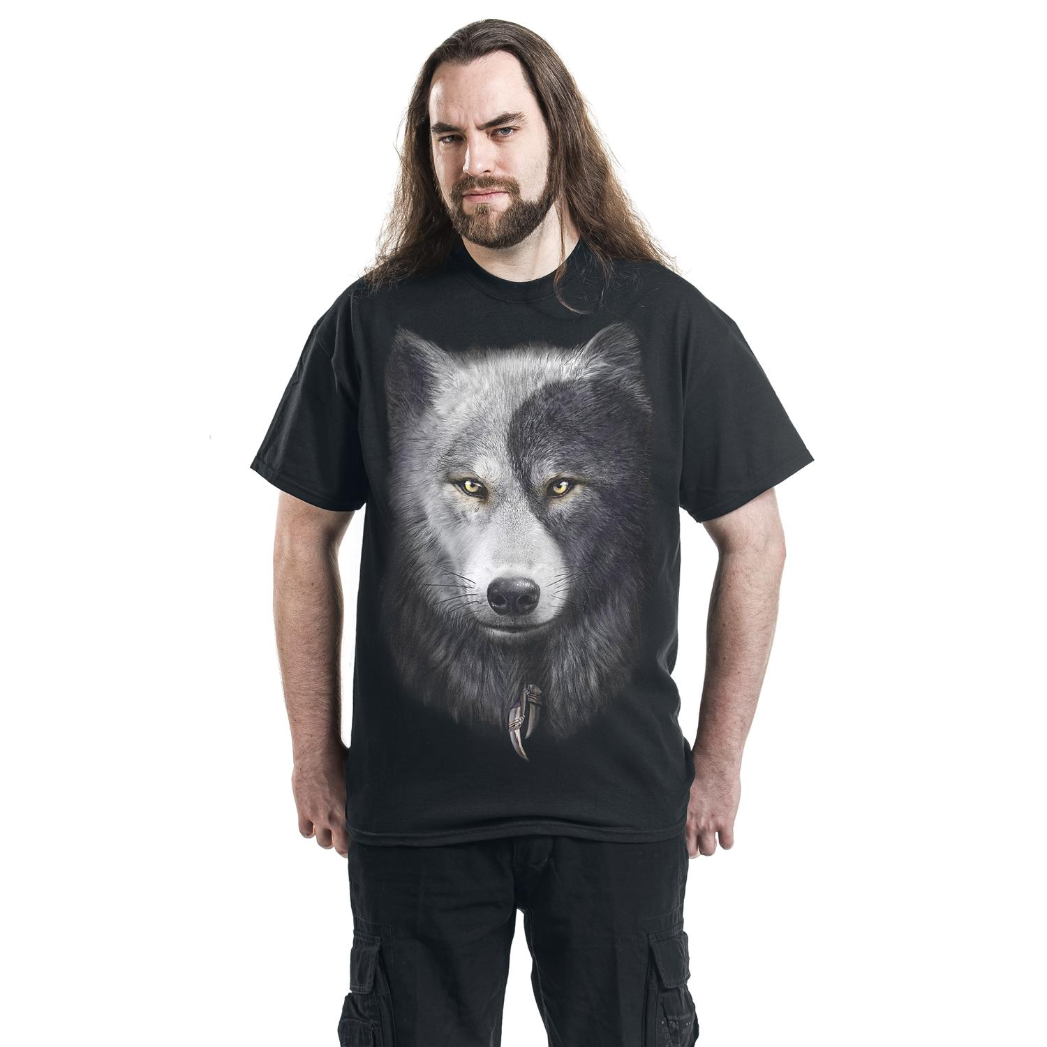 Wolf Chi T-shirt Design man