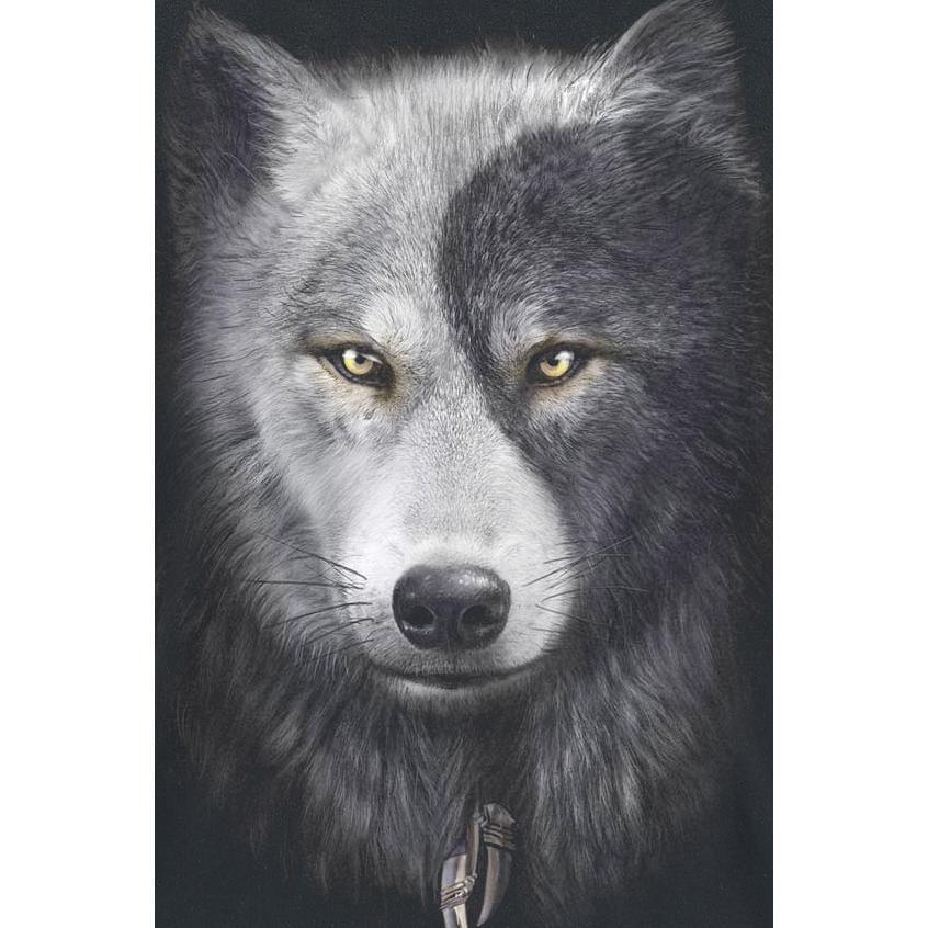 Wolf Chi T-shirt Design wolf