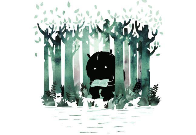 A Quiet Spot T-shirt Design by littleclyde main
