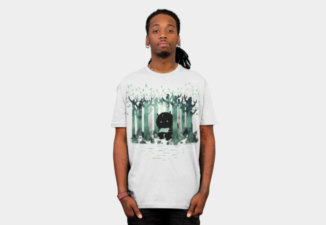 A Quiet Spot T-shirt Design by littleclyde man