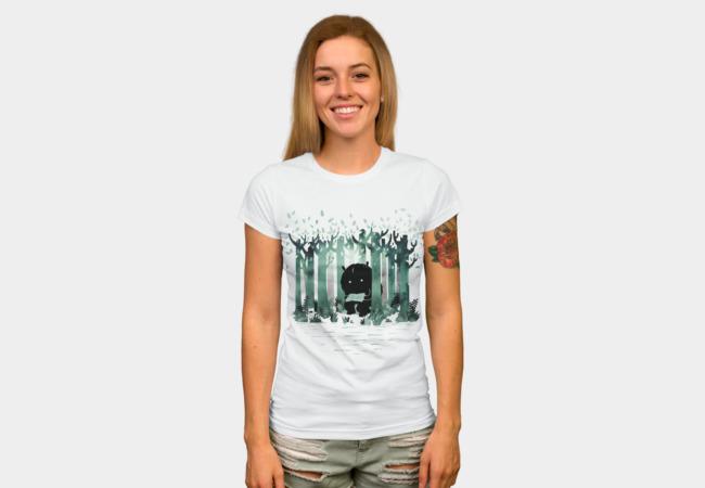 A Quiet Spot T-shirt Design by littleclydewoman