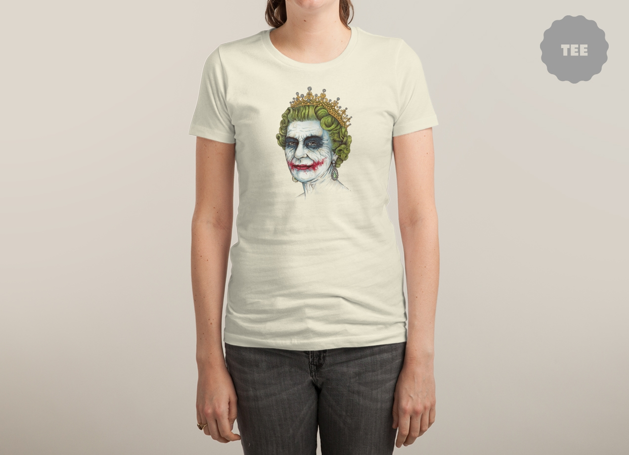GOD SAVE THE VILLAIN! T-shirt Design woman