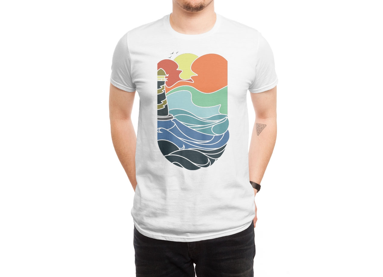 I CAN SEE THE SEA T-shirt Design by sebastian man