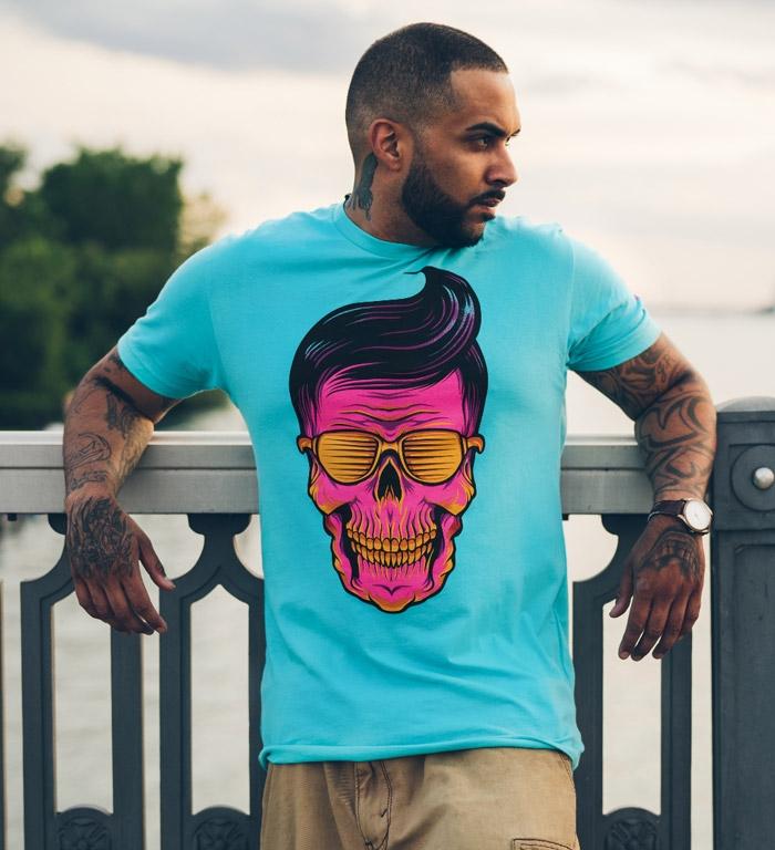 SUNSHINE GREASER T-shirt Design man