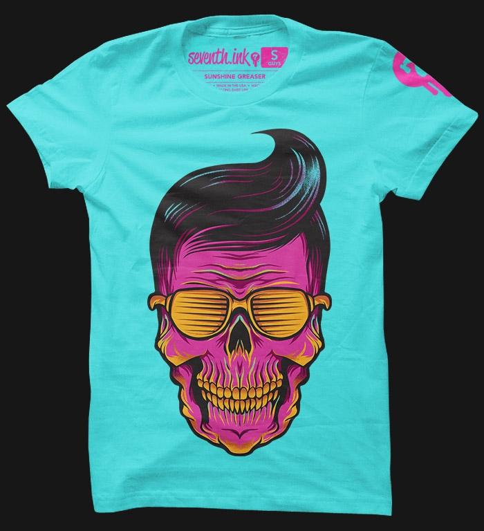 SUNSHINE GREASER T-shirt Design tee