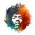 Hendrix Nebula T-shirt Design main