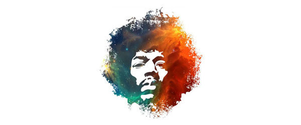 Hendrix Nebula T-shirt Design main