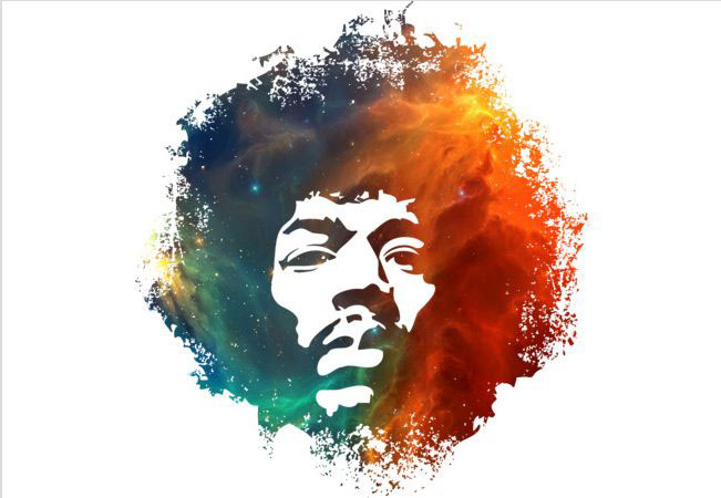 Hendrix Nebula T-shirt Design