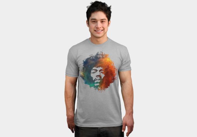Hendrix Nebula man tee