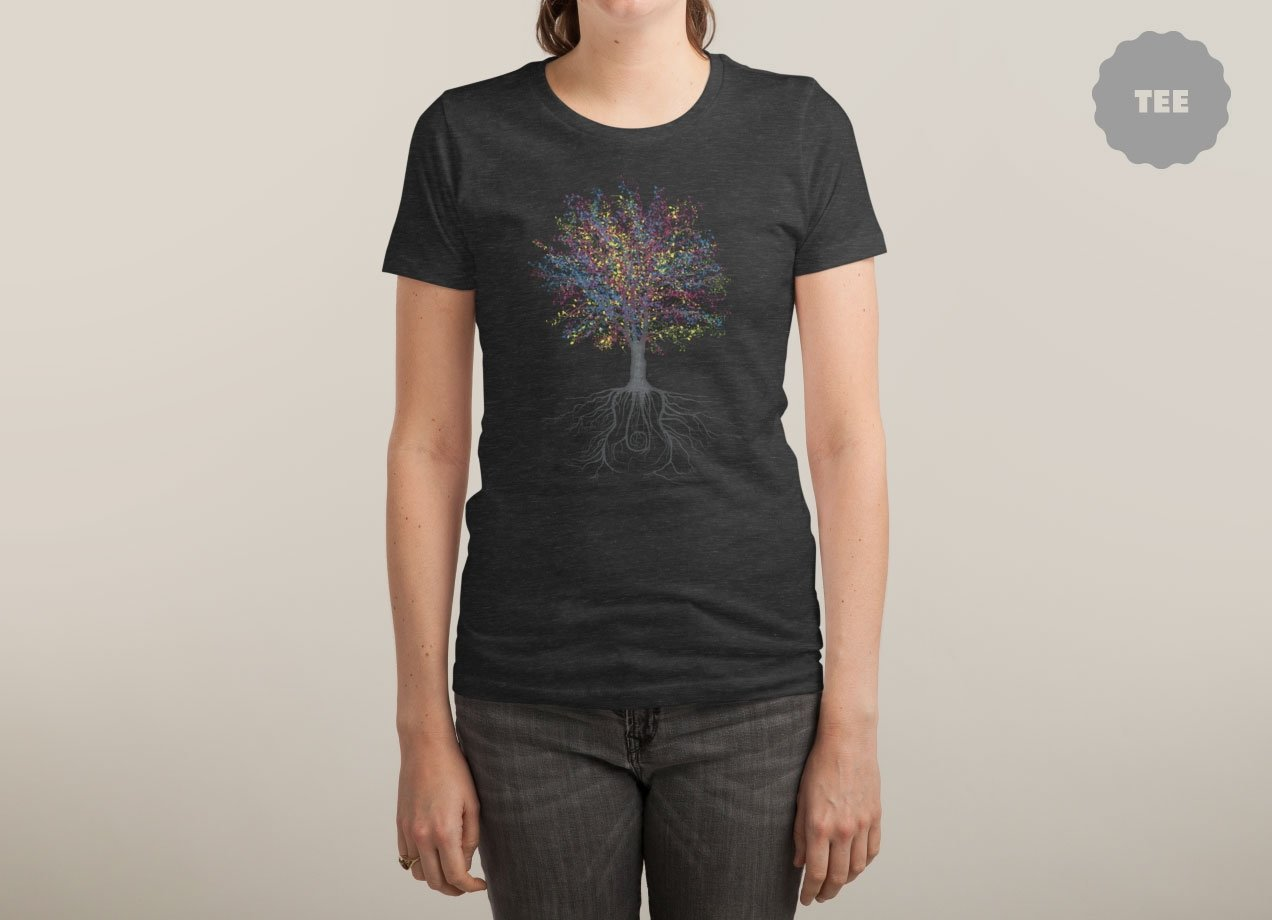 IT GROWS ON TREES T-shirt Design woman