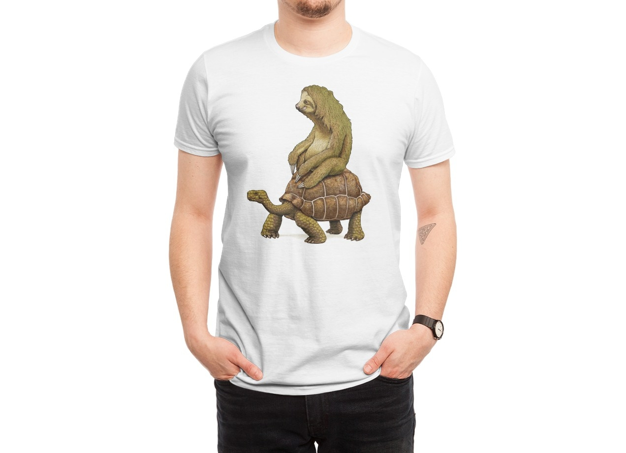 SPEED IS RELATIVE T-shirt Design man