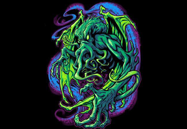 TERROR OF CTHULHU T-shirt main