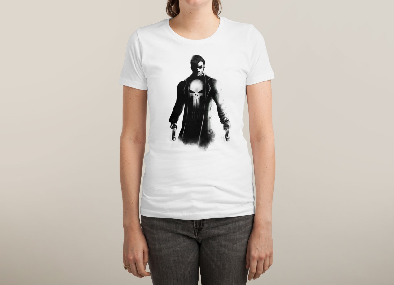 THE PUNISHER T-shirt Design woman