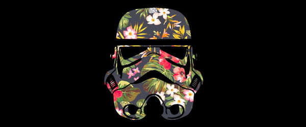 Tropical Stormtrooper T-shirt Design by StarWars main image