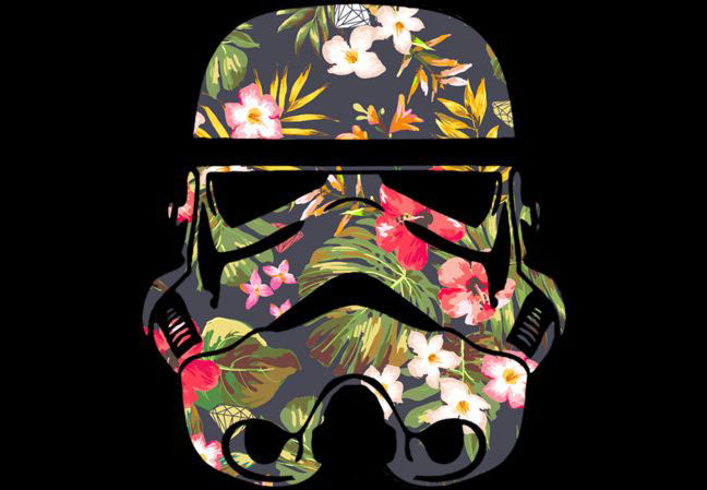 Tropical Stormtrooper T-shirt Design by StarWars main
