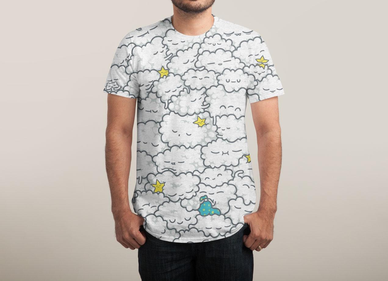 A CLOUDY NIGHT T-shirt Design by Lili Batista man