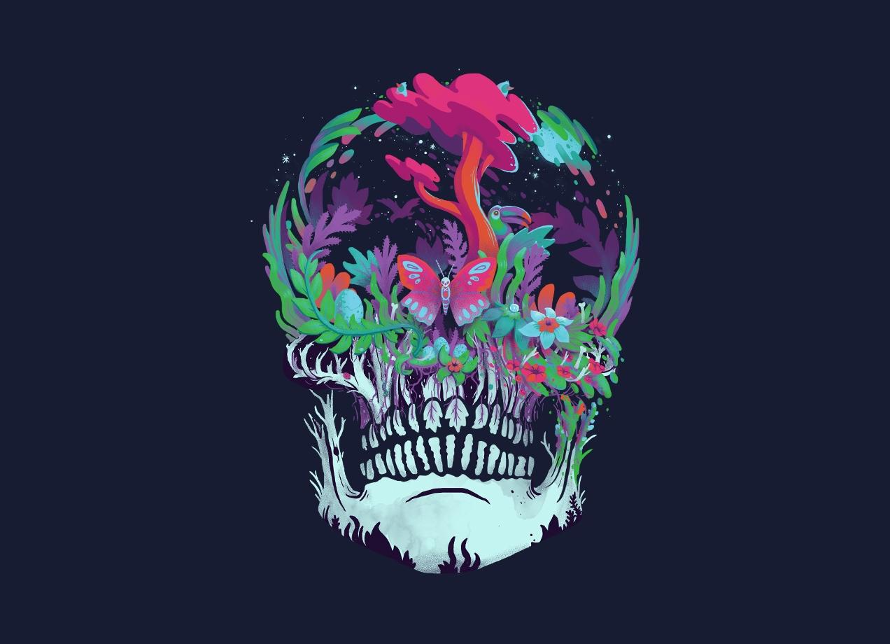 BEYOND DEATH T-shirt Design by Mathijs Vissers main