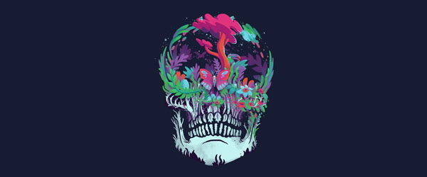 BEYOND DEATH T-shirt Design by Mathijs Vissers main image