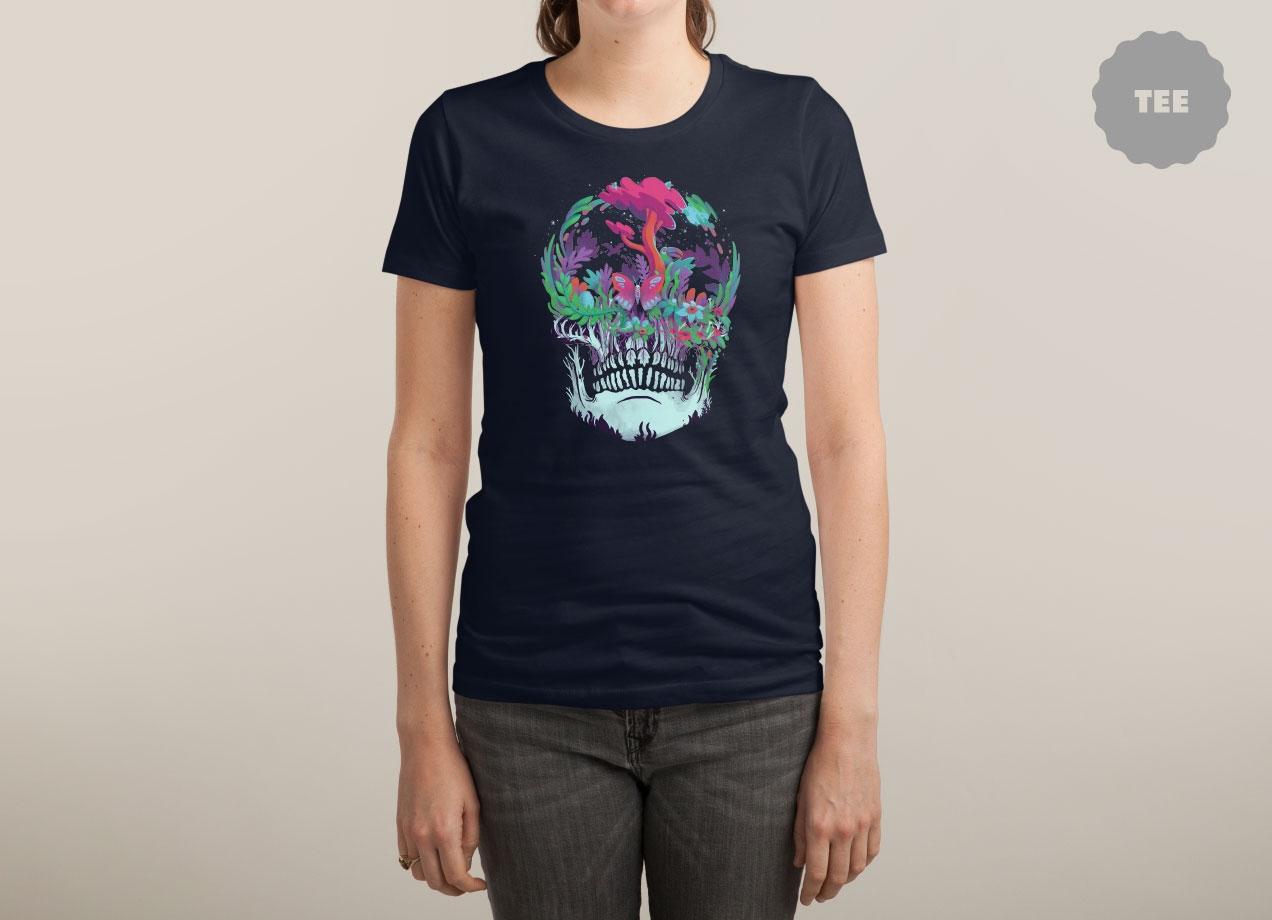 BEYOND DEATH T-shirt Design by Mathijs Vissers woman