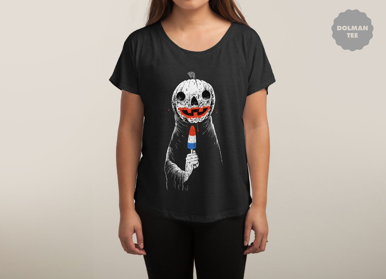 TERRIBLE SUMMER T-shirt Design by Sam Heimer woman