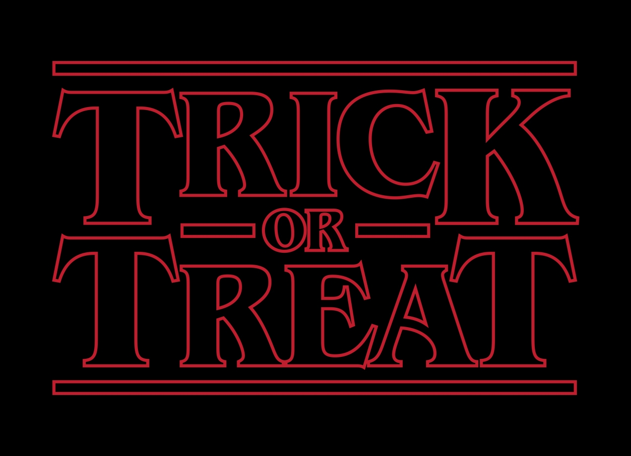 TRICK OR TREAT T-shirt Design by Retro Review design