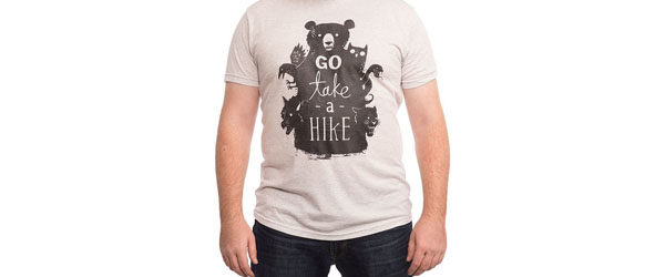 GO TAKE A HIKE T-shirt Design by Michael Buxton main image
