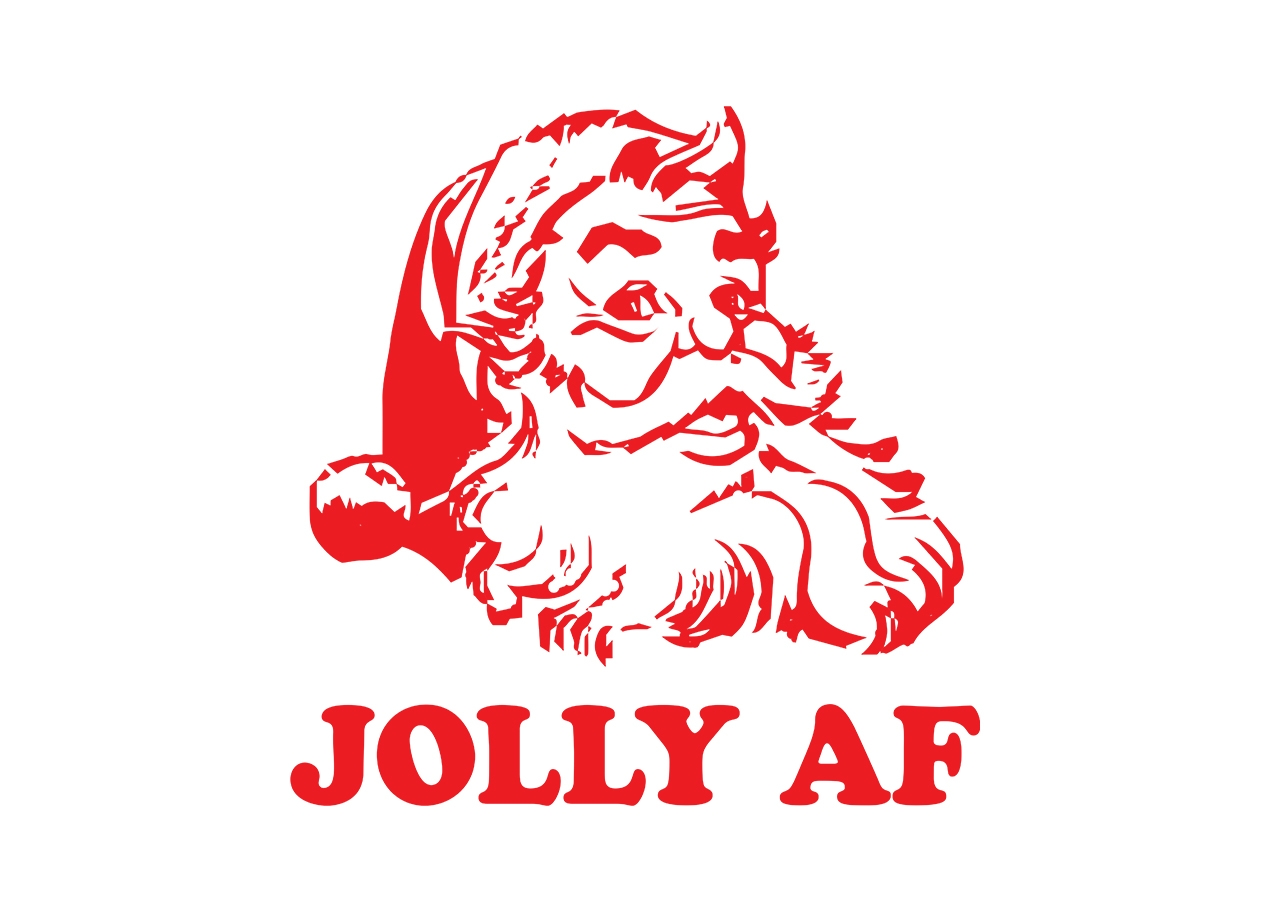JOLLY AF T-shirt Design by Pete Styles maine design