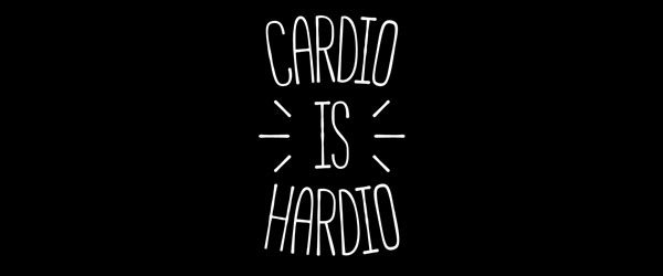 CARDIO IS HARDIO T-shirt Design by redyolk main image