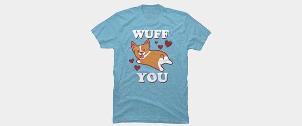 Corgi Love T-shirt Design by lostgods tee main