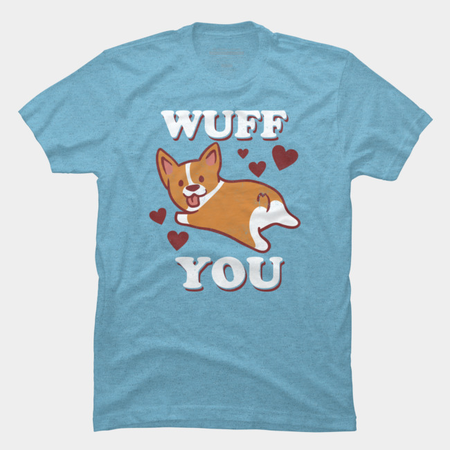 Corgi Love T-shirt Design by lostgods tee