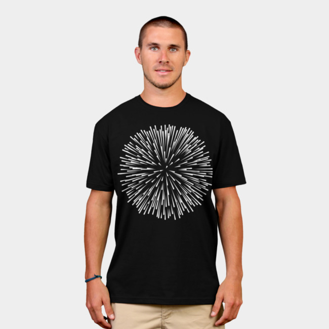 Dandelion T-shirt Design by vomaria man