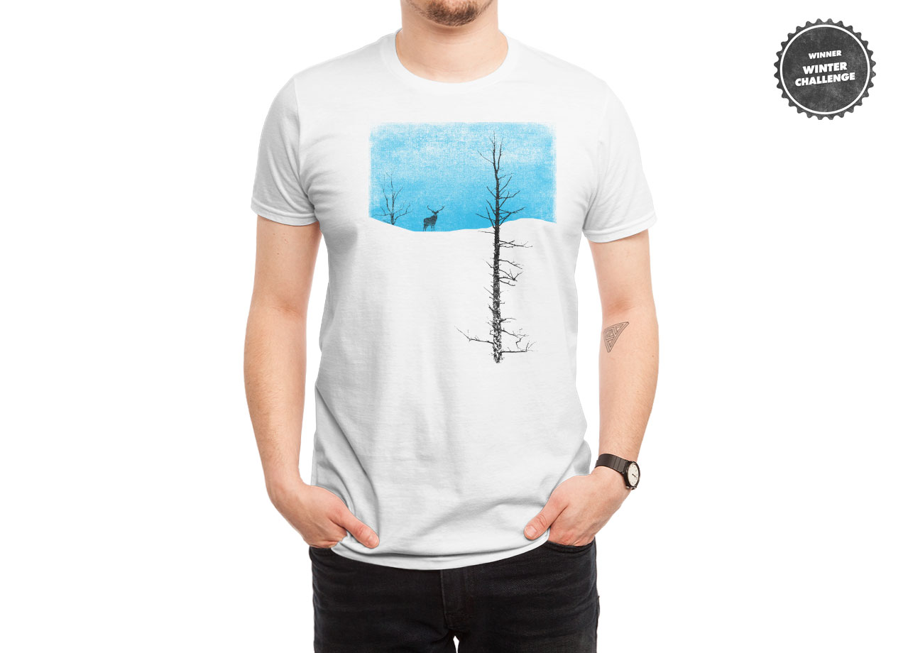 LONELY TREE T-shirt Design by bulo man